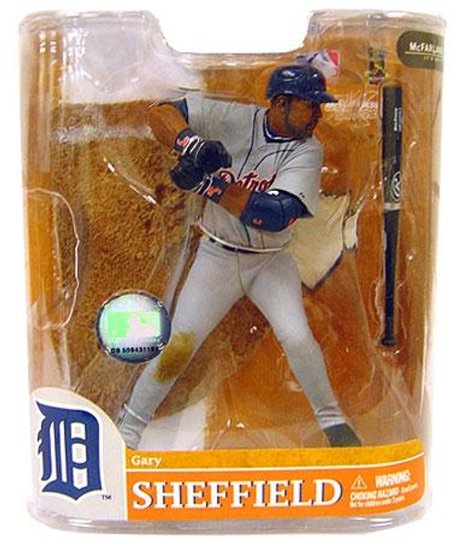 McFarlane Toys MLB Sports Picks Series 20 Exclusive Gary Sheffield (Detroit Tigers) Exclusive Action Figure [Gray Jersey]
