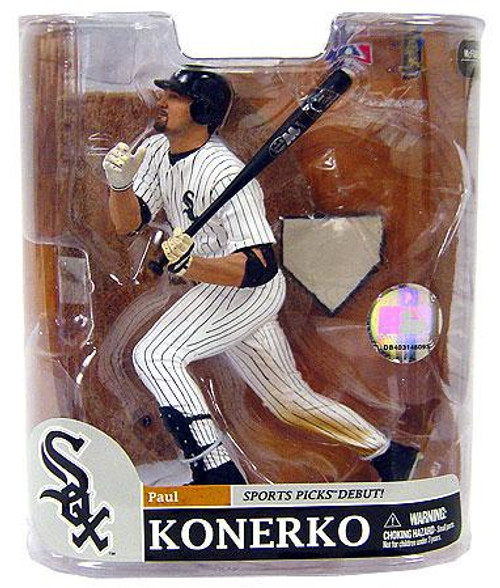 McFarlane Toys MLB Chicago White Sox Sports Picks Series 20 Exclusive Paul Konerko Exclusive Action Figure