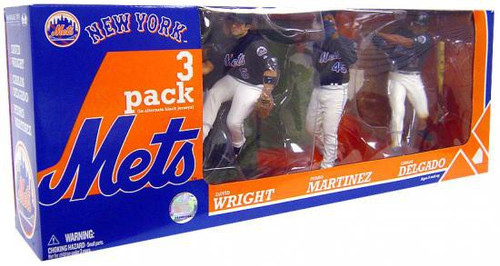 McFarlane Toys MLB Sports Picks Exclusive 3-Pack New York Mets Exclusive Action Figure 3-Pack