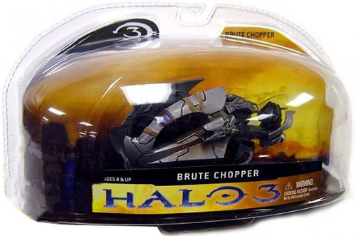 McFarlane Toys Halo 3 Series 1 Brute Chopper 3-Inch Diecast Vehicle