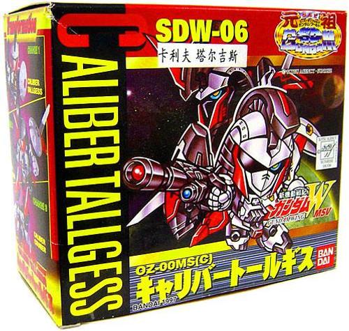 SD Superior Defender Gundam Wing Caliber Tallgess SDW-06 Mini Model Kit
