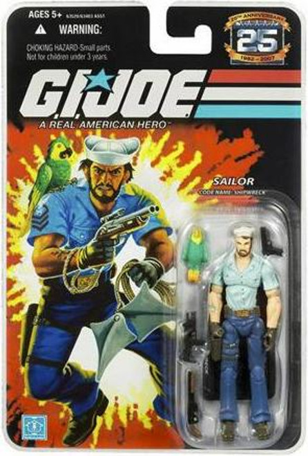 GI Joe 25th Anniversary Wave 3 Shipwreck Action Figure