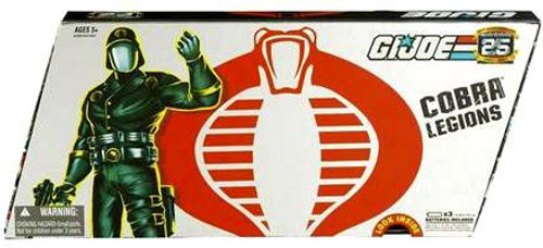 GI Joe 25th Anniversary Series 2 Cobra Legions Action Figure 5-Pack