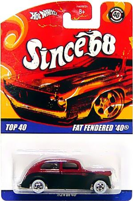Hot Wheels Since '68 Top 40 Fat Fendered '40 Diecast Vehicle #24