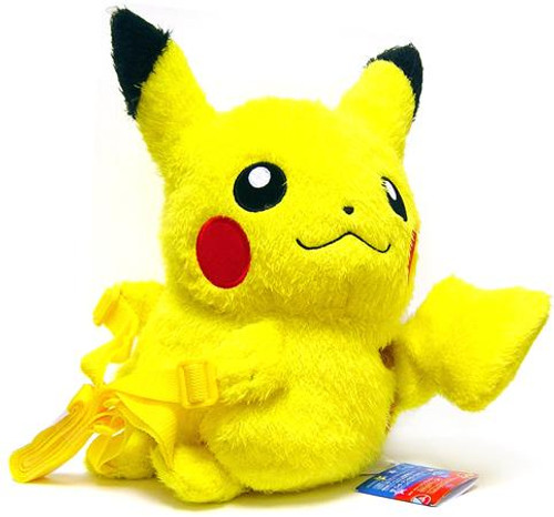Pokemon Japanese Back-Strap Pikachu Plush