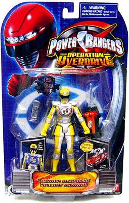 Power Rangers Operation Overdrive Mission Response Yellow Ranger Action Figure