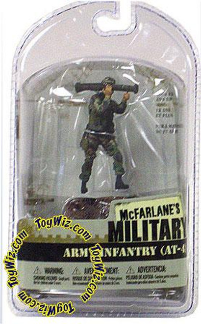 McFarlane Toys McFarlane's Military 3 Inch Series 1 Army Infantry AT-4 Mini Figure [Random Ethnicity]