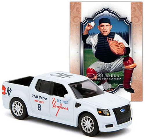 MLB New York Yankees Hall of Fame Series NY Yankees Ford Truck Diecast Vehicle [Yogi Berra]