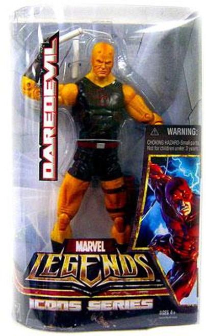 Marvel Legends Icons 12 Inch Series 1 Daredevil Action Figure [Black & Yellow Costume]
