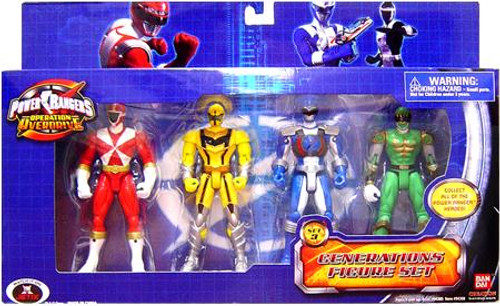 Power Rangers Operation Overdrive Generations Figure Set Exclusive [Set 3]