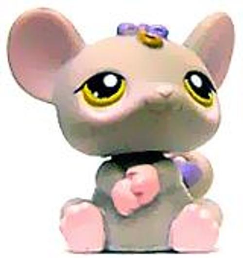 Littlest Pet Shop Mouse Figure #116 [Gray Loose]