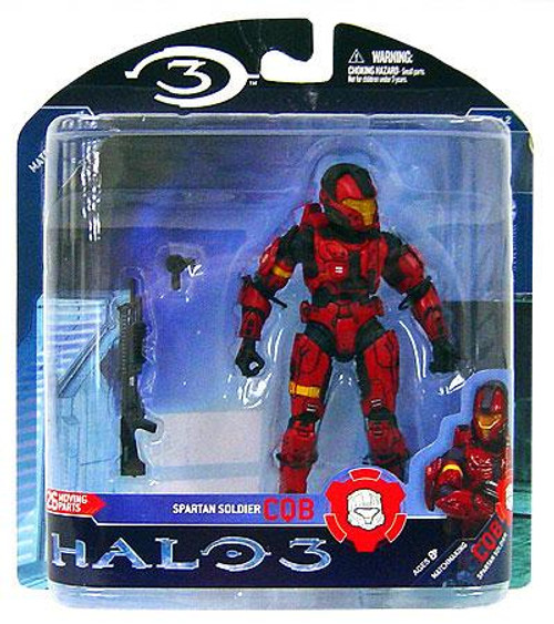 McFarlane Toys Halo 3 Series 2 Spartan Soldier CQB Action Figure [Red]