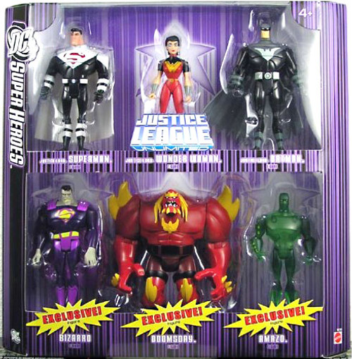 DC Justice League Super Heroes Justice Lords 6-Pack Exclusive Action Figure Set