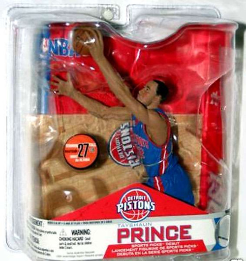 McFarlane Toys NBA Detroit Pistons Sports Picks Series 14 Tayshaun Prince Action Figure [Blue Jersey]