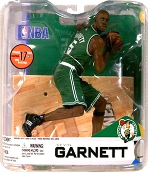 McFarlane Toys NBA Boston Celtics Sports Picks Series 14 Kevin Garnett Action Figure [Green Jersey]