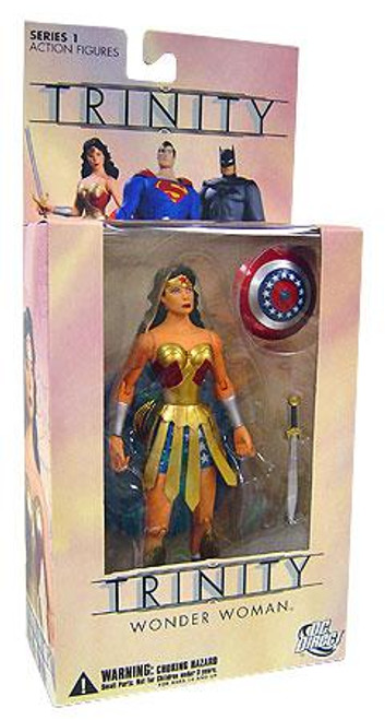 DC Trinity Series 1 Wonder Woman Action Figure