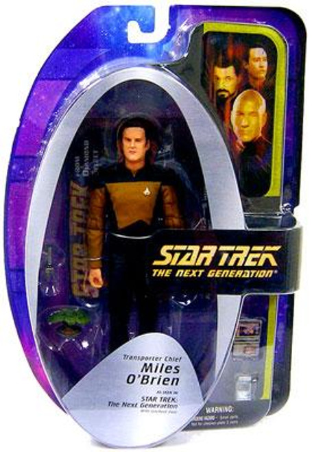 Star Trek The Next Generation TNG Series 5 Miles O'Brien Action Figure [Transporter Chief]