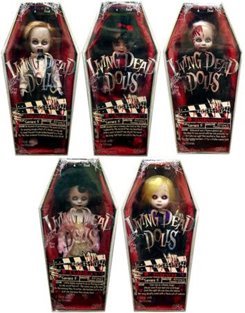 Living Dead Dolls Series 5 Set of 5 Dolls
