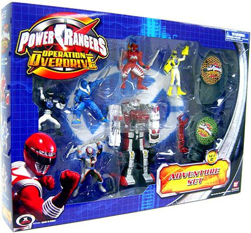 Operation Overdrive Power Rangers Adventure Set PVC Figures [Set C]