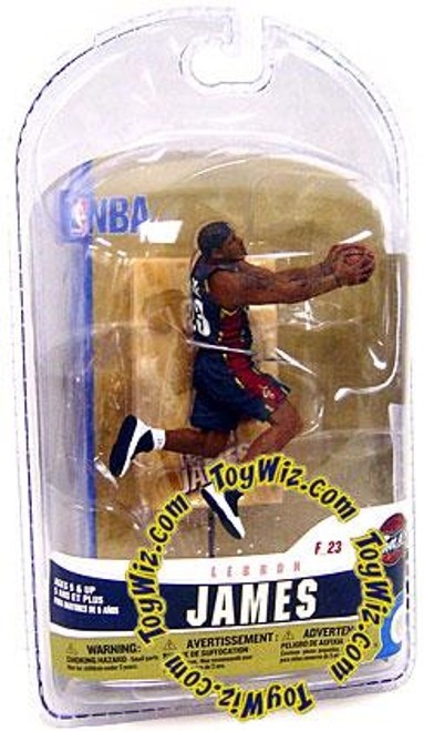 McFarlane Toys NBA Cleveland Cavaliers Sports Picks 3 Inch Mini Series 5 LeBron James Mini Figure