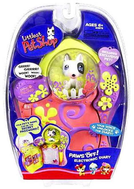 Littlest Pet Shop Paws Off Electronic Diary Exclusive [With Exclusive Dog]