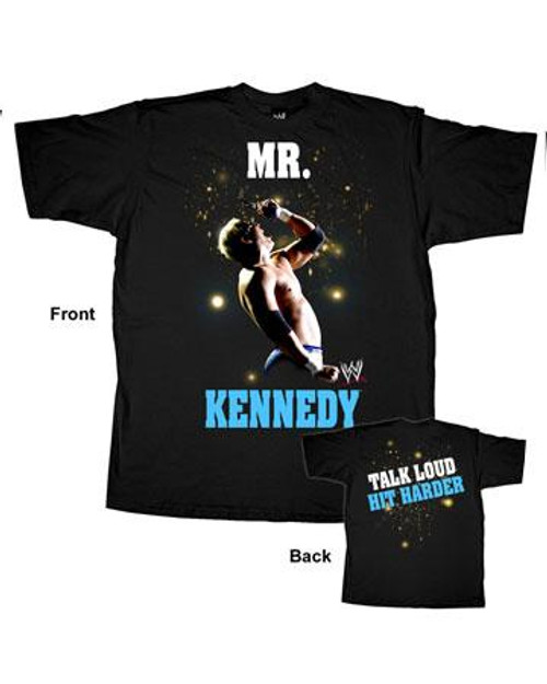 WWE Wrestling Mr. Kennedy T-Shirt WWM070 [Adult S]