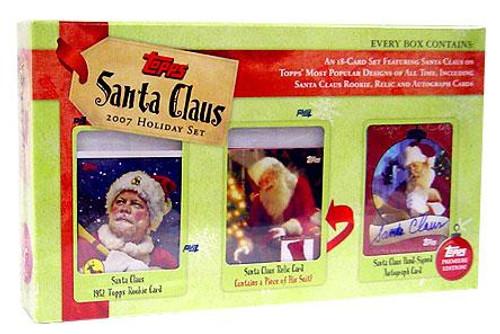 2007 Santa Claus Holiday Trading Card Set