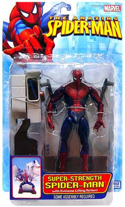 The Amazing Spider-Man Super Strength Spider-Man Action Figure