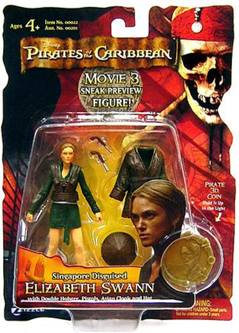 Pirates of the Caribbean At World's End Series 3 Elizabeth Swann Action Figure [Singapore Disguised, Sneak Preview]