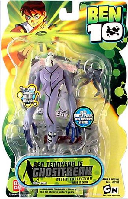 Ben 10 Alien Collection Series 2 Ghostfreak Action Figure
