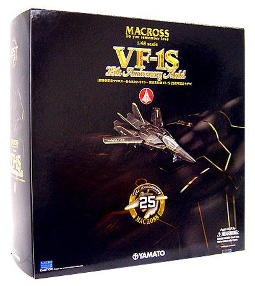 Robotech Macross 25th Anniversary VF-1S Action Figure [Black Version]