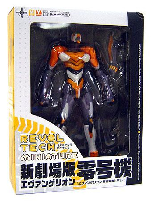 Neon Genesis Evangelion Rebuild Revoltech Miniature Proto Type-00 Action Figure [New Movie Version]