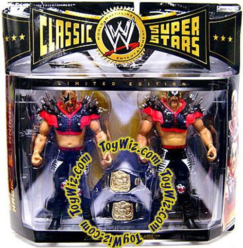 WWE Wrestling Classic Superstars Limited Editions Hawk & Animal Exclusive Action Figure 2-Pack
