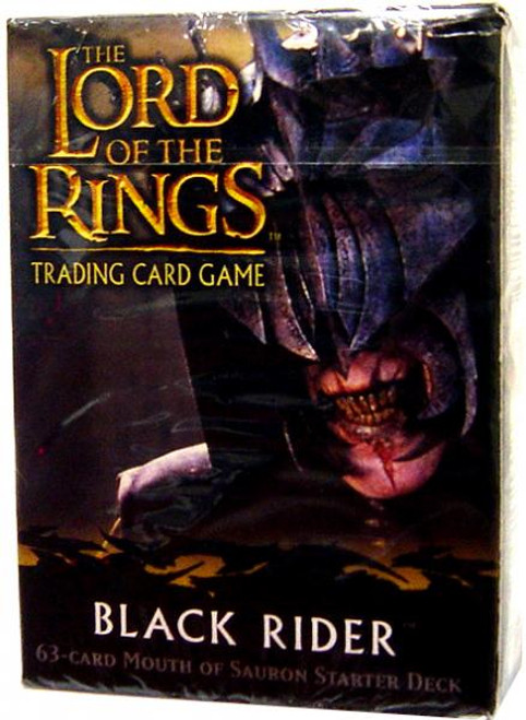 The Lord of the Rings Trading Card Game Black Rider Mouth of Sauron Starter Deck