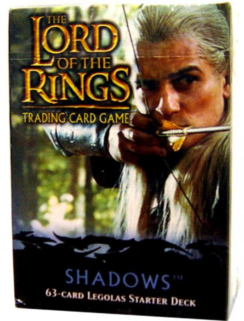 The Lord of the Rings Trading Card Game Shadows Legolas Starter Deck
