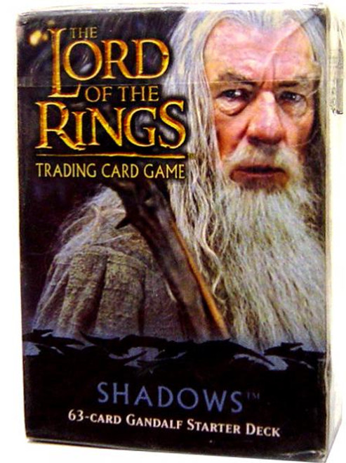 The Lord of the Rings Trading Card Game Shadows Gandalf Starter Deck