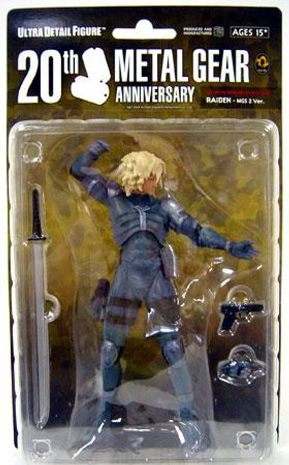 Metal Gear Solid Series 1 Raiden 7-Inch Collectible Figure [MGS2]
