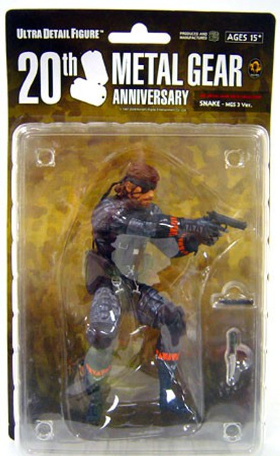 Metal Gear Solid Series 1 Snake 7-Inch Collectible Figure [MGS3]