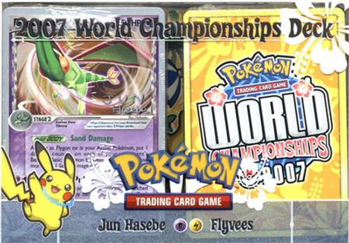 Pokemon World Championships Deck 2007 Jun Hasebe's Flyvees Deck