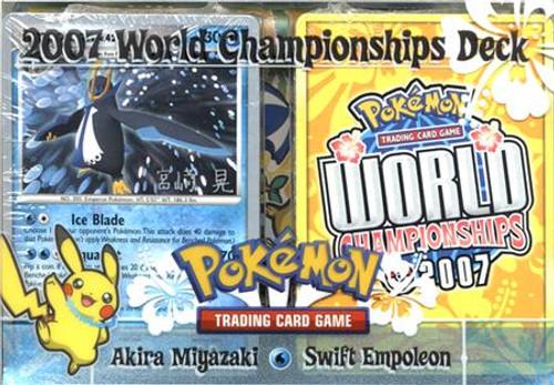 Pokemon World Championships Deck 2007 Akira Miyazaki's Swift Empoleon Deck
