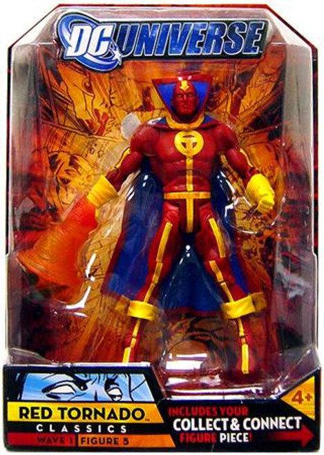 DC Universe Classics Wave 1 Red Tornado Action Figure #5