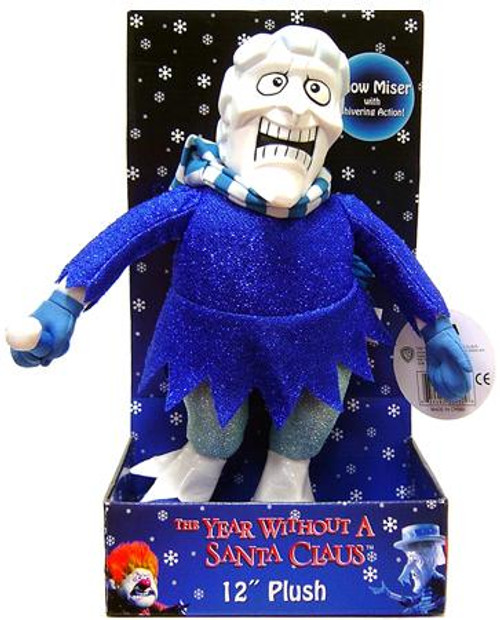 NECA The Year Without Santa Claus Snow Miser 12-Inch Plush