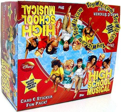 Disney High School Musical Trading Card Sticker Box