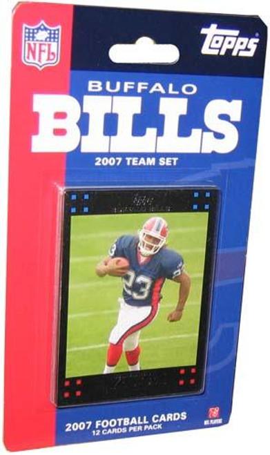 NFL 2007 Topps Football Cards Buffalo Bills Team Set