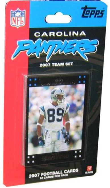 NFL 2007 Topps Football Cards Carolina Panthers Team Set