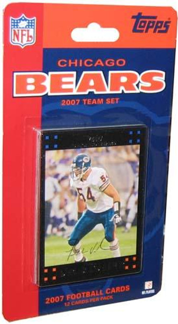 NFL 2007 Topps Football Cards Chicago Bears Team Set