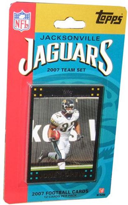 NFL 2007 Topps Football Cards Jacksonville Jaguars Team Set