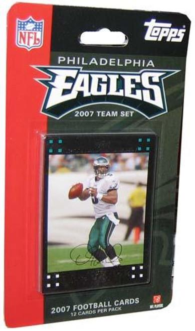 NFL 2007 Topps Football Cards Philadelphia Eagles Team Set