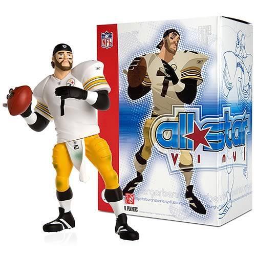 NFL Pittsburgh Steelers All Star Vinyl Ben Roethlisberger Vinyl Figure [White Away Jersey]