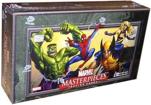 Skybox Marvel Masterpieces Series 1 Trading Card Box